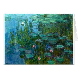 Claude Monet Artist Painter Destiny Gifts Card