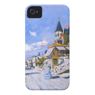 Claude Monet: At the Beach of Trouville Case-Mate iPhone 4 Case
