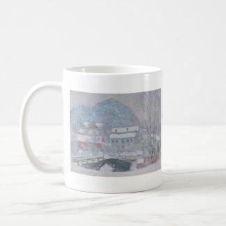 Claude Monet Basic White Mug