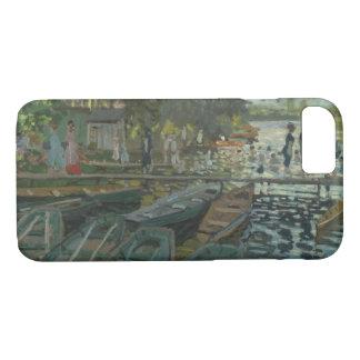 Claude Monet - Bathers at La Grenouillere iPhone 7 Case
