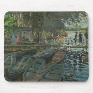 Claude Monet - Bathers at La Grenouillere Mouse Pad