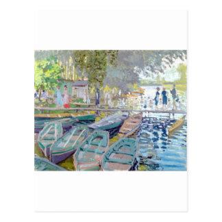 Claude Monet - Bathers at La Grenouillère Postcard
