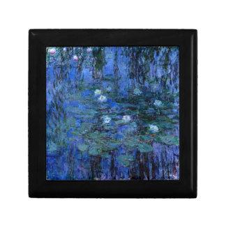 Claude Monet Blue Water Lilies Gift Box