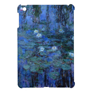 Claude Monet Blue Water Lilies iPad Mini Cover