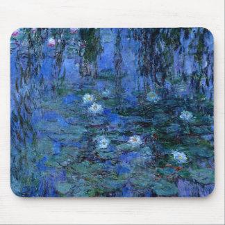 Claude Monet Blue Water Lilies Mouse Pad