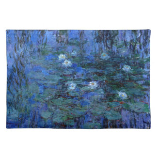 Claude Monet Blue Water Lilies Placemat