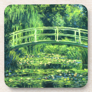 Claude Monet: Bridge Over a Pond of Water Lilies Coaster