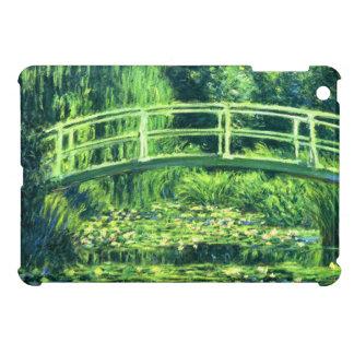 Claude Monet: Bridge Over a Pond of Water Lilies iPad Mini Cases