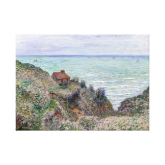 Claude Monet Cabin of the Customs Watch Canvas Print