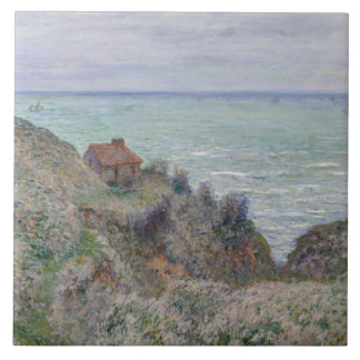 Claude Monet - Cabin of the Customs Watch Tiles