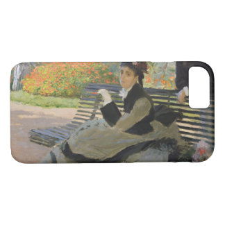 Claude Monet - Camille Monet on a Bench iPhone 7 Case