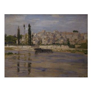Claude Monet | Carrieres-Saint-Denis, 1872 Postcard