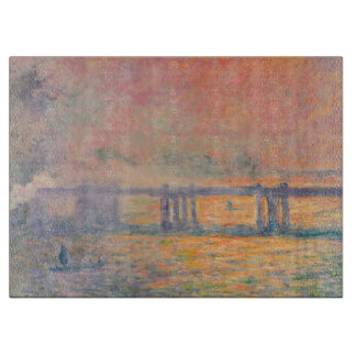 Claude Monet Charing Cross Bridge Boards