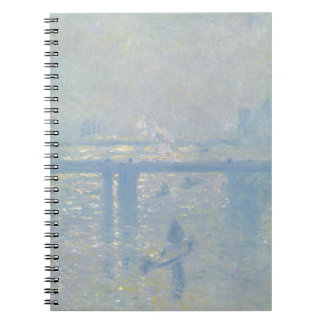 Claude Monet - Charing Cross Bridge. Classic Art Notebook
