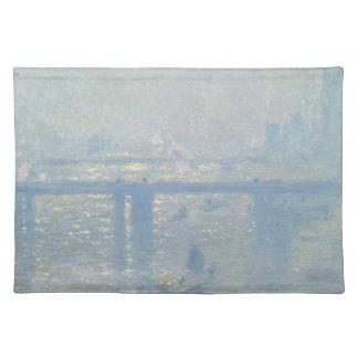Claude Monet - Charing Cross Bridge. Classic Art Placemat