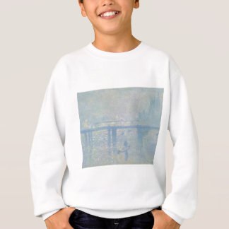 Claude Monet - Charing Cross Bridge. Classic Art Sweatshirt
