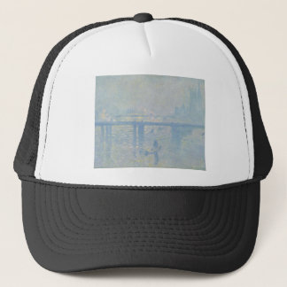 Claude Monet - Charing Cross Bridge. Classic Art Trucker Hat