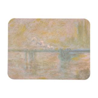 Claude Monet - Charing-Cross Bridge in London Rectangular Photo Magnet