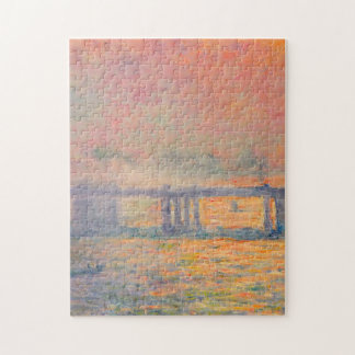 Claude Monet Charing Cross Bridge Jigsaw Puzzle