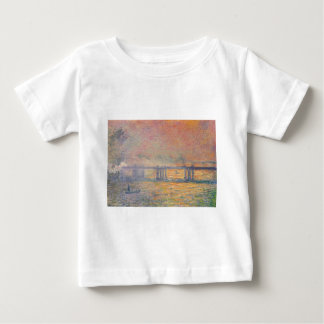 Claude Monet - Charing Cross Bridge Saint Louis Baby T-Shirt
