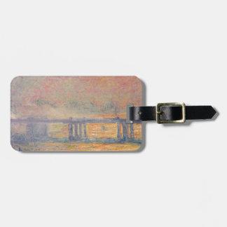 Claude Monet - Charing Cross Bridge Saint Louis Luggage Tag