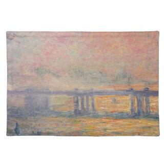 Claude Monet - Charing Cross Bridge Saint Louis Placemat