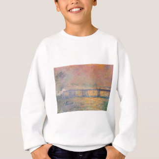Claude Monet - Charing Cross Bridge Saint Louis Sweatshirt