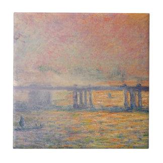 Claude Monet - Charing Cross Bridge Saint Louis Tile