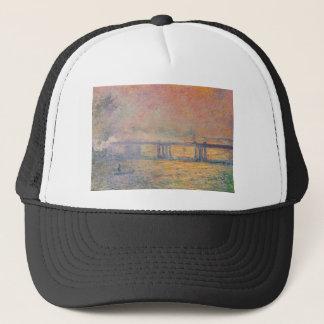 Claude Monet - Charing Cross Bridge Saint Louis Trucker Hat
