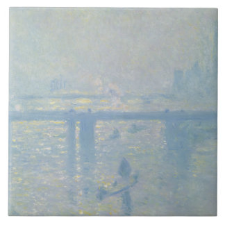 Claude Monet - Charing Cross Bridge Tile