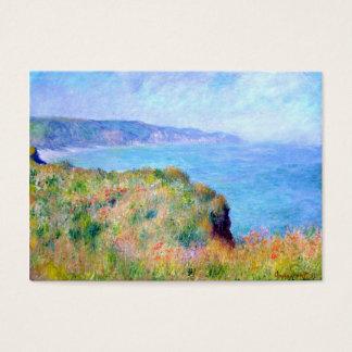 Claude Monet: Cliff Near Pourville Business Card