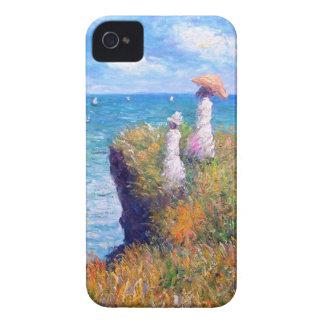Claude Monet: Cliff Walk at Pourville iPhone 4 Case