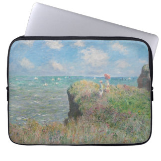 Claude Monet - Cliff Walk at Pourville Laptop Sleeve
