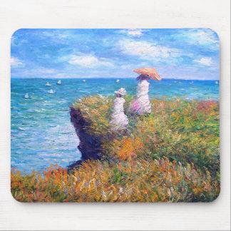 Claude Monet: Cliff Walk at Pourville Mouse Pads