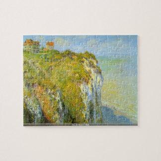 Claude Monet - Cliffs puzzle