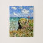 Claude Monet Clifftop Walk Jigsaw Puzzle