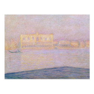 Claude Monet | Ducal Palace from San Giorgio, 1908 Postcard