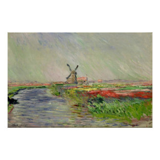 Claude Monet ~ Dutch Tulips Poster