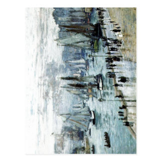 Claude Monet, Fishing Boats Leaving the Harbor, Le Postcard