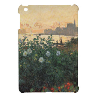 Claude Monet - Flowered Riverbank Argenteuil Cover For The iPad Mini
