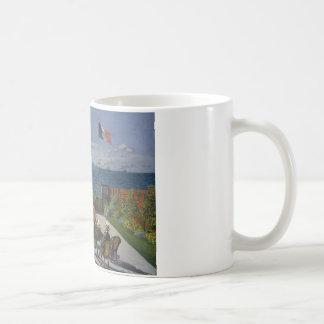 Claude Monet - Garden at Sainte-Adresse Coffee Mug