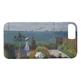 Claude Monet - Garden at Sainte-Adresse iPhone 8/7 Case