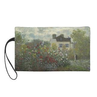 Claude Monet Garden in Argenteuil Wristlet
