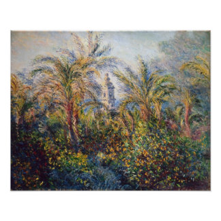 Claude Monet | Garden in Bordighera Poster