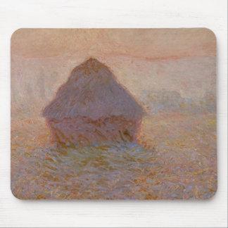 Claude Monet | Grainstack, Sun in the Mist Mouse Pad