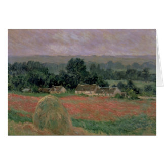 Claude Monet | Haystack at Giverny, 1886 Card