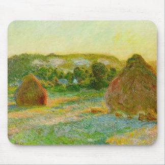 Claude Monet // Haystacks Mouse Pad