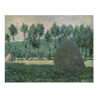 Claude Monet | Haystacks near Giverny, c.1884-89 Postcard