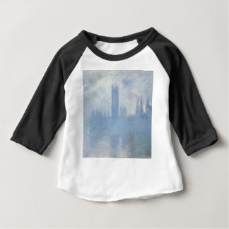 Claude Monet - Houses of Parliament London Art Baby T-Shirt
