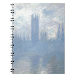 Claude Monet - Houses of Parliament London Art Notebook